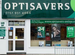 Photograph of Optisavers - Crosby branch