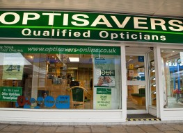 Photograph of Optisavers - Northwich branch